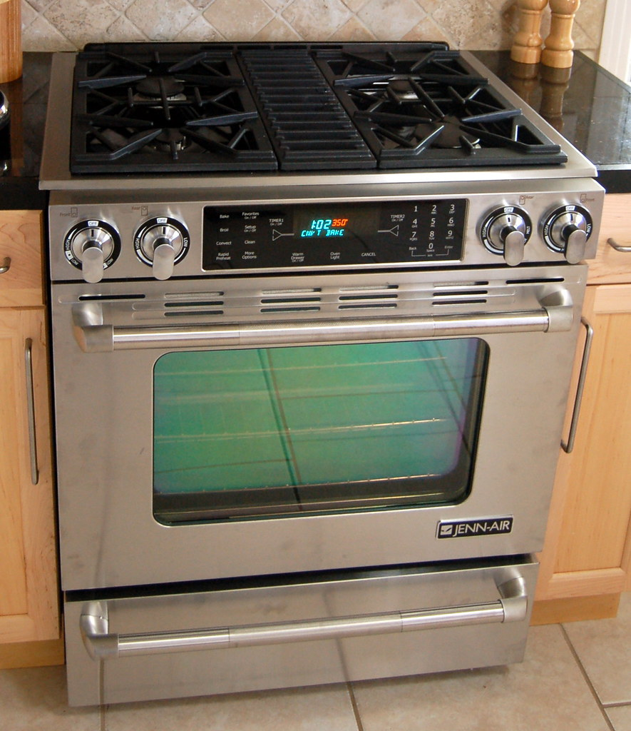 Jenn-Air Pro-Style Slide-In Gas Range with Convection | Flickr