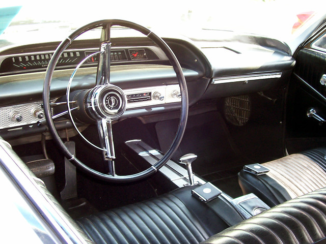 39 64 Chevy Impala Ss Interior From Driver 39 S Seat Typical I Flickr Photo Sharing