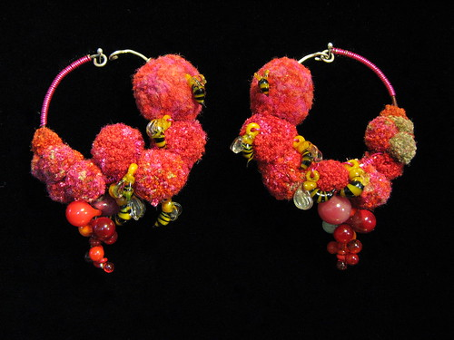 Floribund Earrings-- Jenine.net | by Jenine Bressner