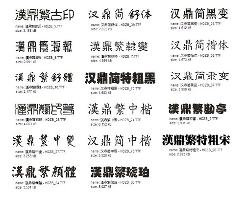 Free Chinese Fonts From Institute Of Chinese Studies