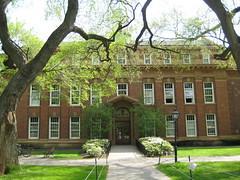 Murray Hall, English Dept., Rutgers University