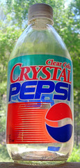 Crystal Pepsi, 1992 | by Roadsidepictures
