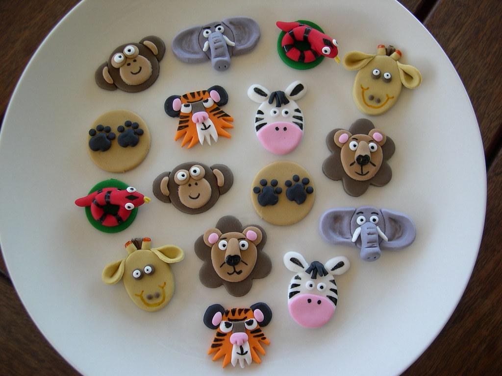 Jungle Animal Cake Toppers Australia