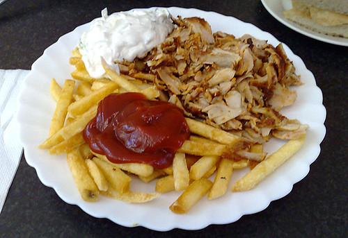 Location >> Dönerteller mit Pommes / Kebap with french fries | Location:… | Flickr