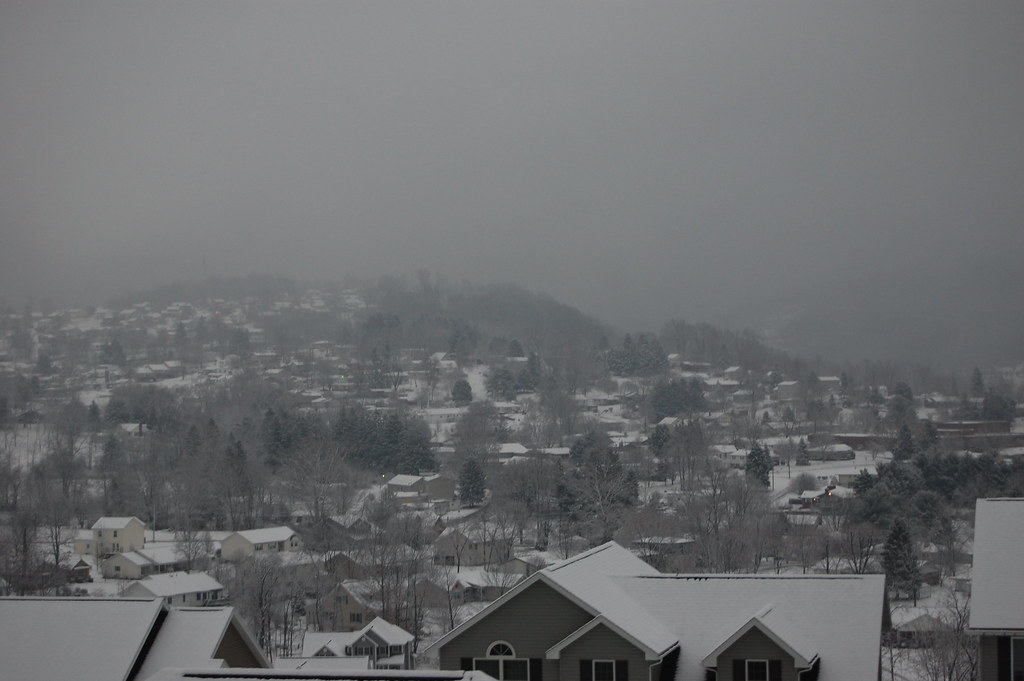 Snow Over Brookhaven Morgantown Wv Rich Mcgervey Flickr