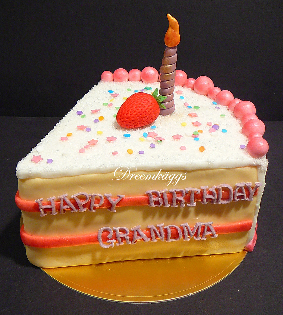 Images Of Birthday Cake Slices : Jason s Grandma s Birthday Cake Slice anna.dreemkaggs ...