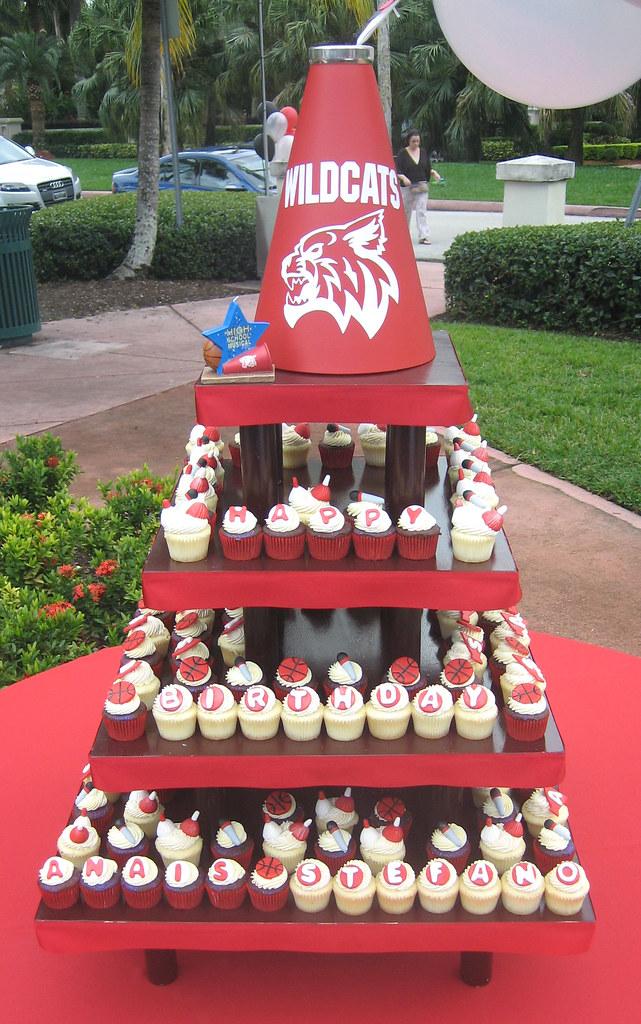 High School Musical Birthday Cupcakes High School