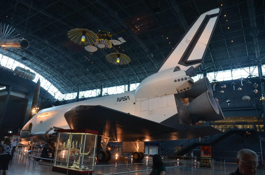 Steven F. Udvar-Hazy Center: Space Shuttle Enterprise (port full view)
