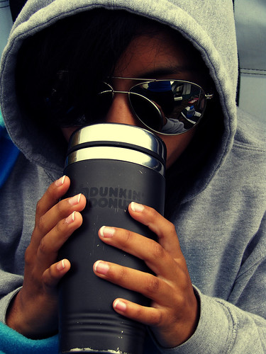 Liz & Hater Blockerz & Coffee | by Raymond Brown