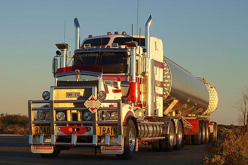 Kym Martin's Kenworth T904 Road Train | Truckaus | Flickr