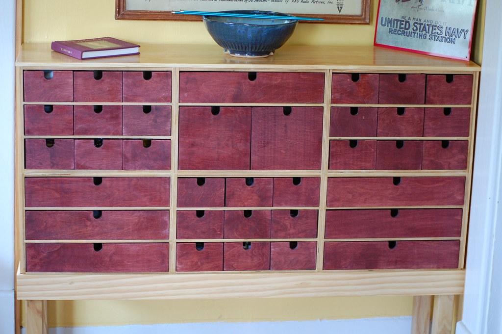 ikea craft cabinet damon took six ikea office organizers. Black Bedroom Furniture Sets. Home Design Ideas