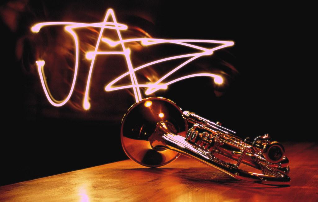 Jazz Trumpet My Trumpet Sitting On The Kitchen Island W