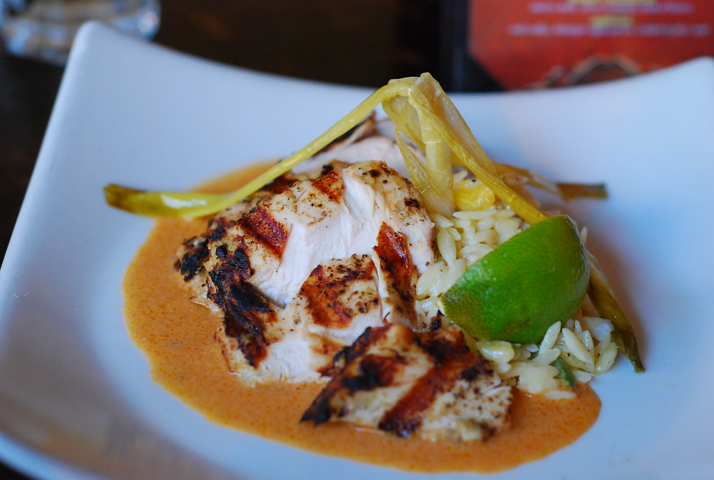 Pollo diablo - mojito marinated grilled chicken breast, ma… | Flickr