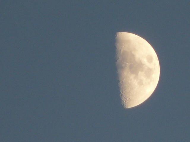 Cuarto creciente una foto m s de la luna para flickr for Cuarto menguante de la luna