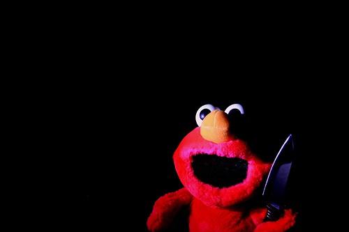 Elmo With A Knife 2677...
