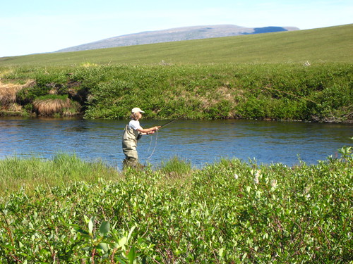Flyfishing on the Kuparuk | by WNPR - Connecticut Public Radio
