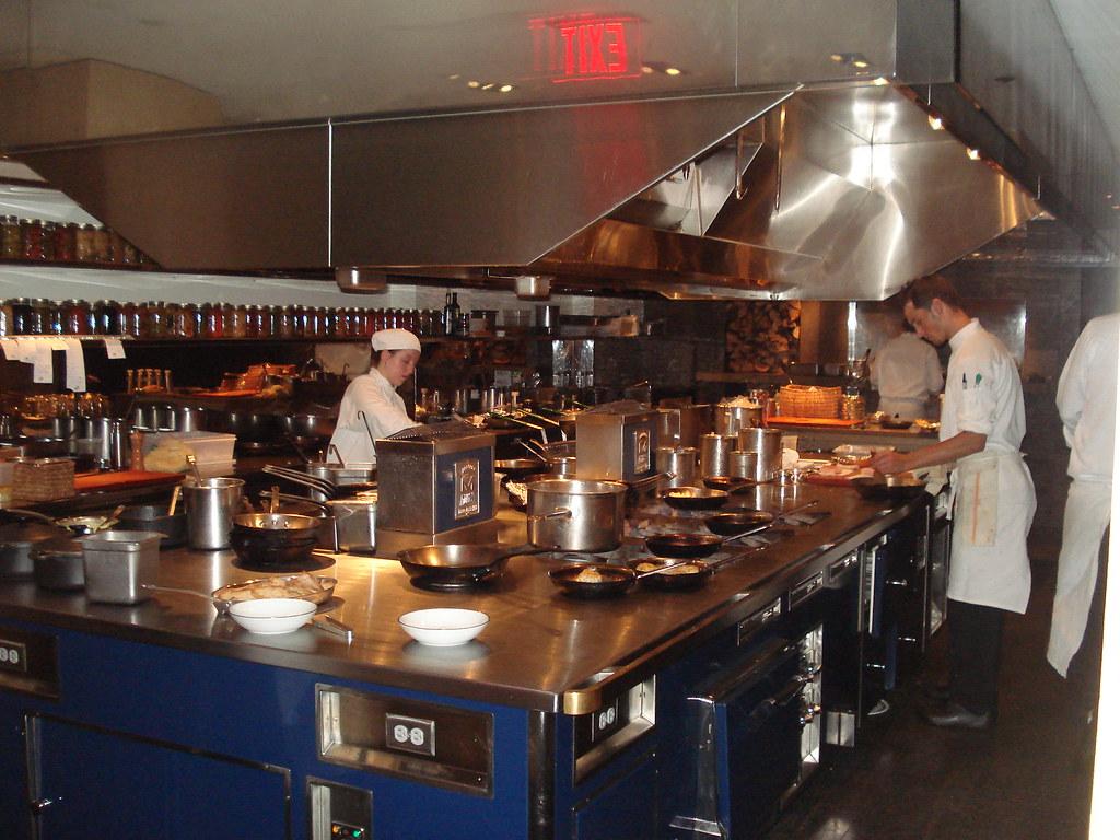 blue duck tavern kitchen