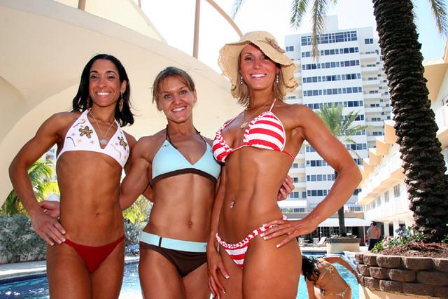 Beach bikini girl picture south