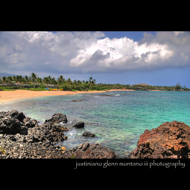 Big Island Beaches: Kukio Beach Kona District Big Island Hawaii