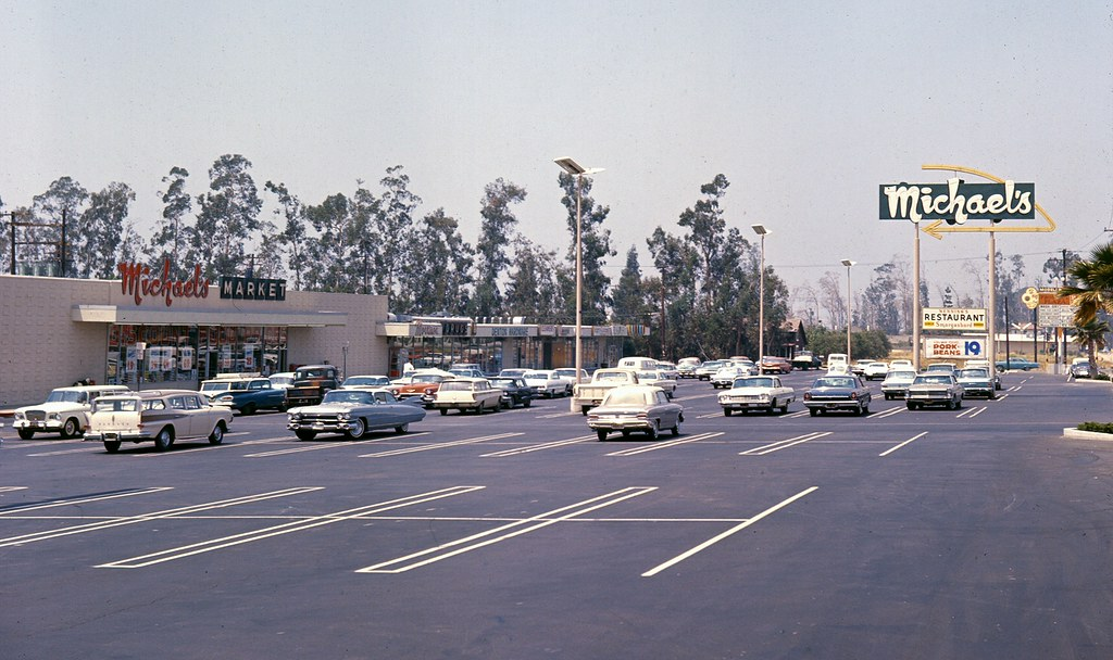 Prospect Plaza, Chapman Ave. & Prospect, Orange, May 1966 ...