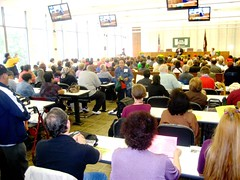 The crowd at the 4th annual West Side Tenants' Conference.