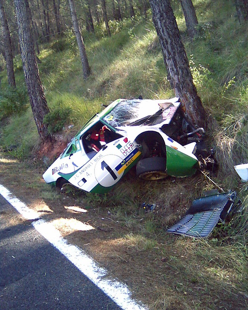 lancia stratos crash | despues es.youtube.com/watch?v ...