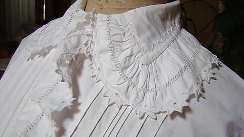 Victorian Nightdress Ruffled Collar & Placket | Flickr - Photo Sharing ...