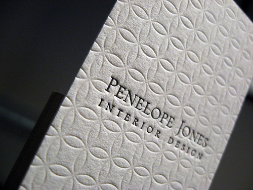 Penelope Jones Letterpress Cards | by dolcepress