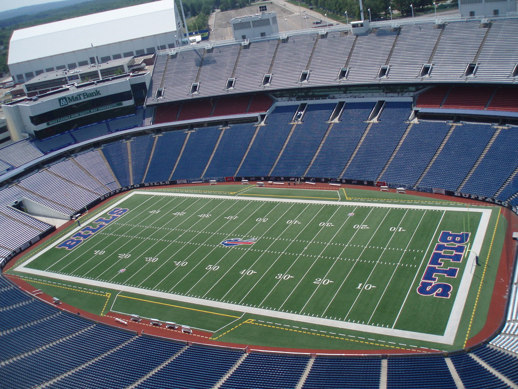 Ralph Wilson Stadium Buffalo Bills Buffalo NY Crane Lif