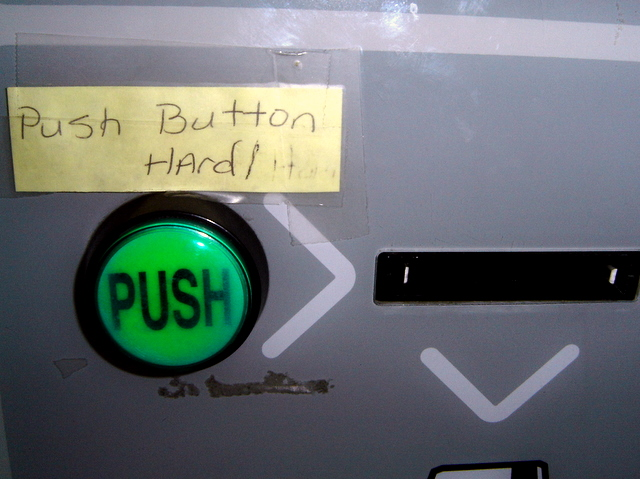 Push Button Hard