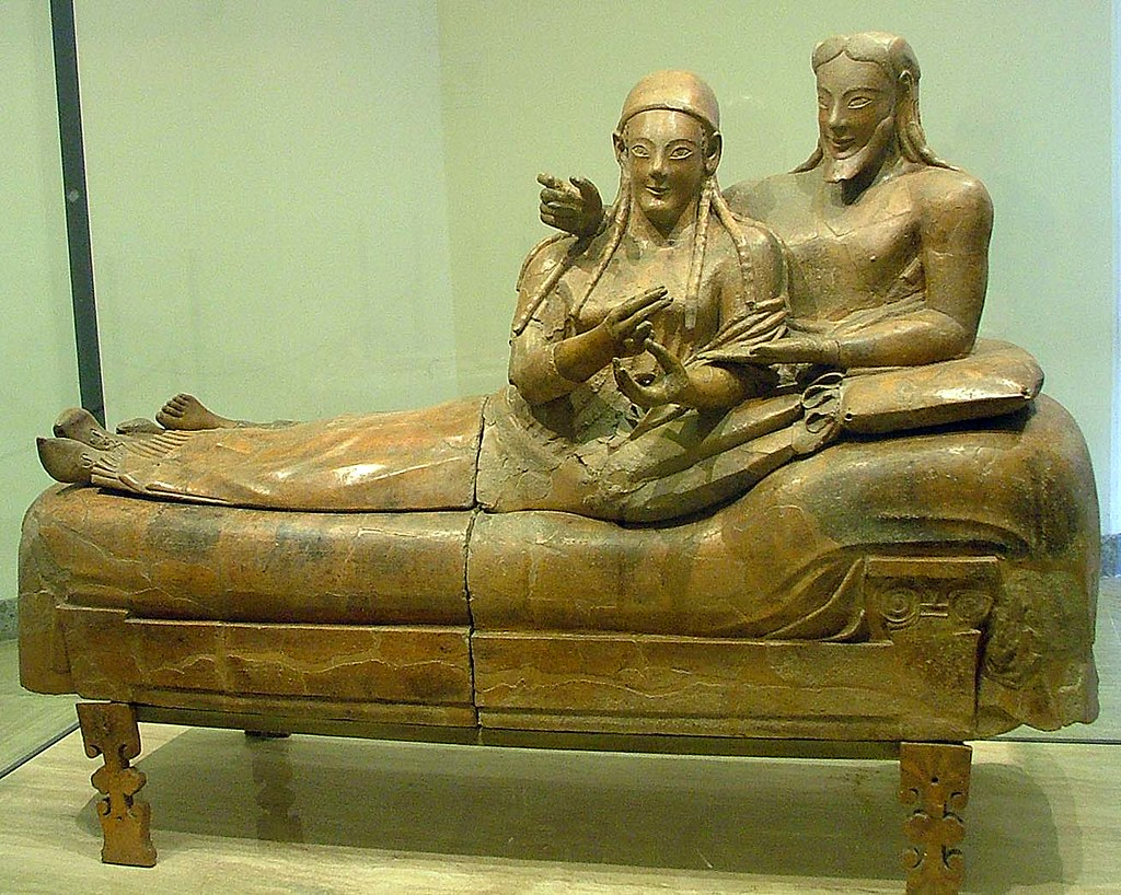 Sarcophagus The Spouses National Etruscan Museum