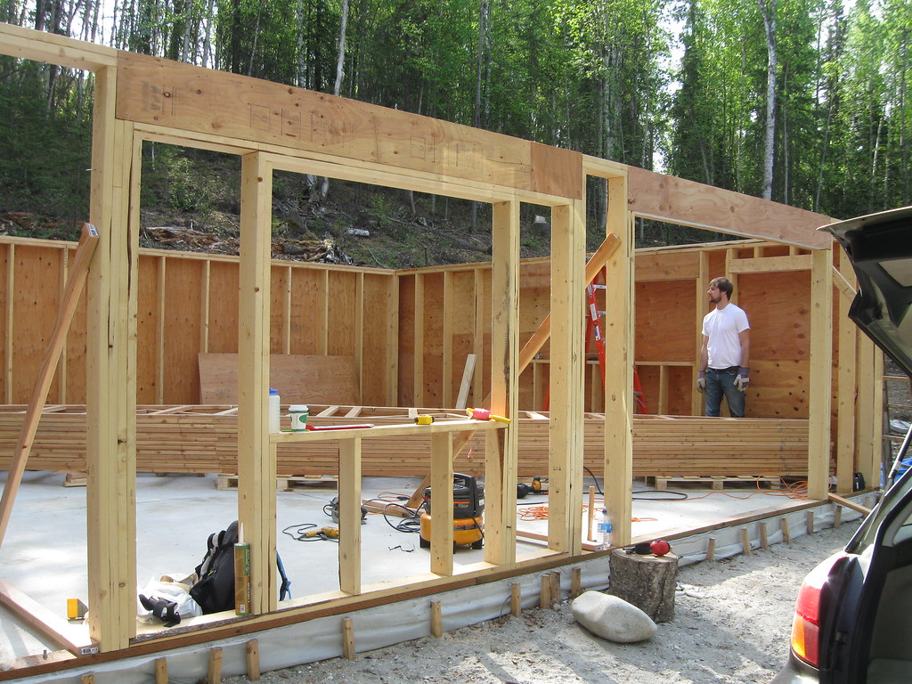 Garage construction finishing up the garage walls and for 3d garage builder