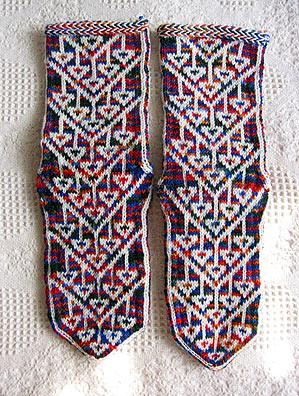 Turkish socks - Kurdish pattern Turkish socks knitted from? Flickr