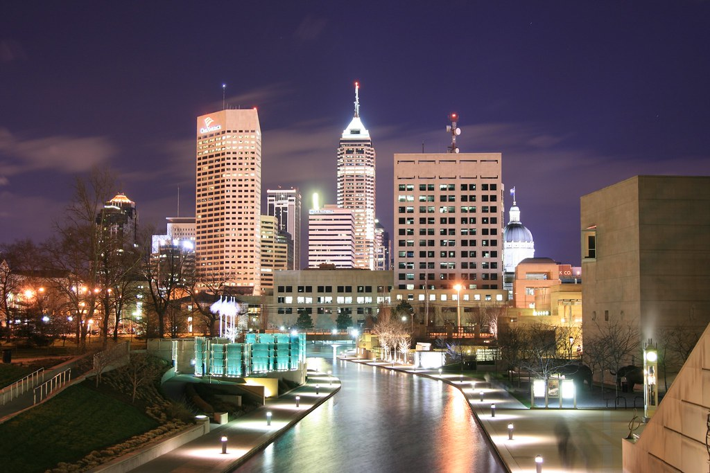 indianapolis skyline see more and purchase prints at theob flickr. Black Bedroom Furniture Sets. Home Design Ideas