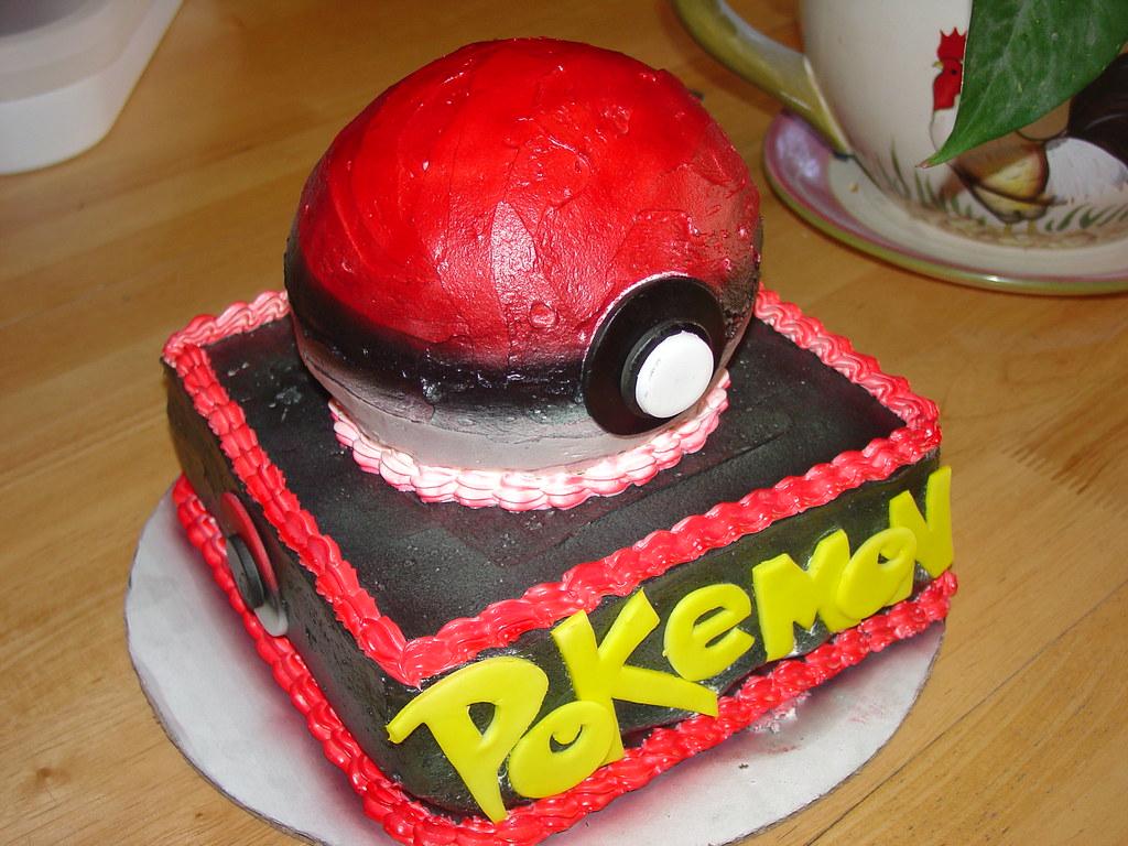 Pokemon Ball Cake Pan