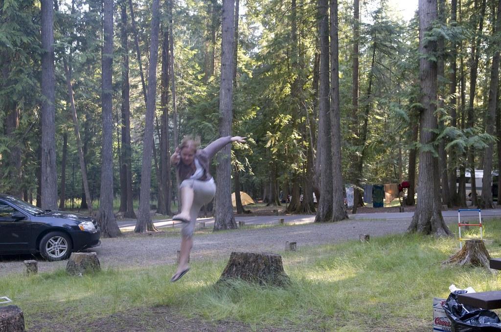 Idaho Camping Camping At Sam Owen Campground At Lake