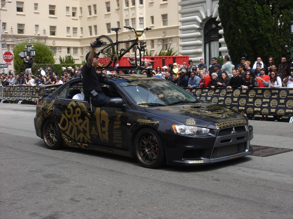 Gumball 3000 Mitsubishi Lancer Evolution Mr With Roof