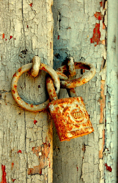 Rusty Lock Sophia Kontopoulou Flickr