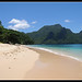 Playa secreta de Palawan, Filipinas...