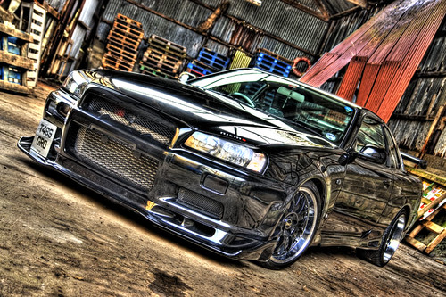 nissan skyline r34 photoshoot hdr 5 exposures this. Black Bedroom Furniture Sets. Home Design Ideas