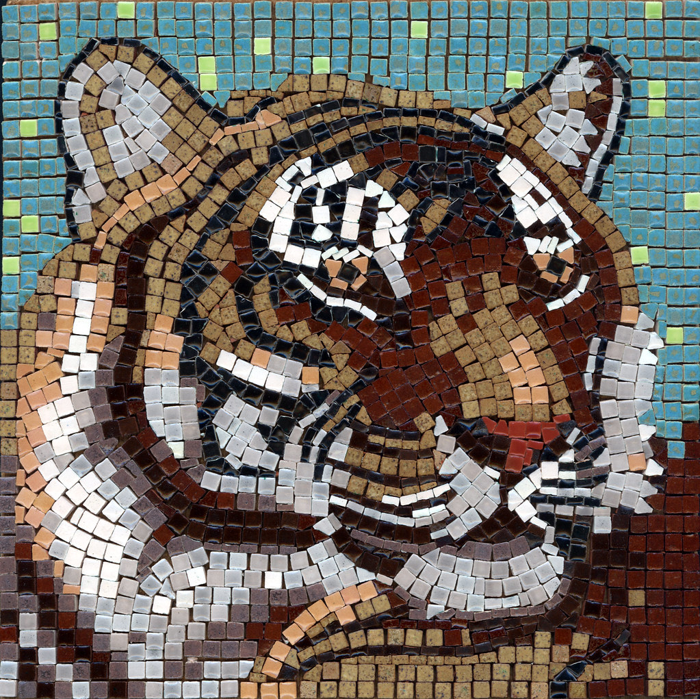 Tiger 20x20cm With Alea Mosaic Tiles Alea Mosaic Com