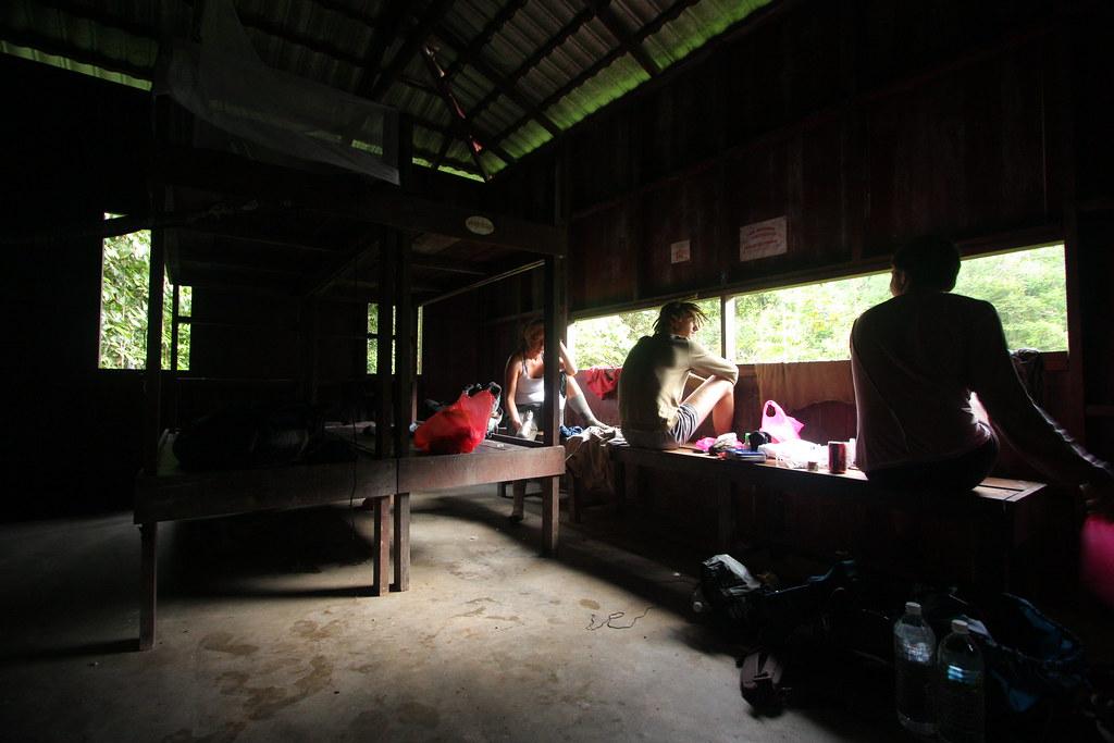 Relaxing in Bumbun Kumbang Hide, Taman Negara | Flickr - Photo Sharing ...