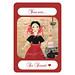 Super Bake Girl Emilia Front Postcard Etsy