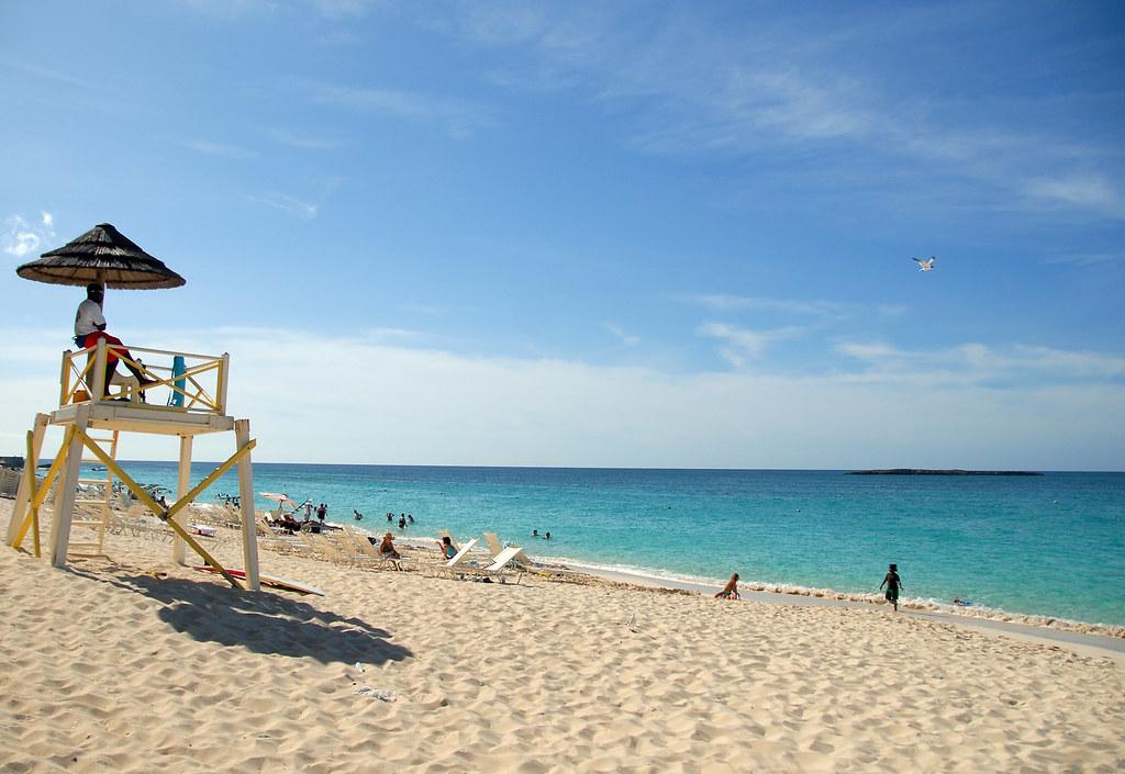 S Beach Scene