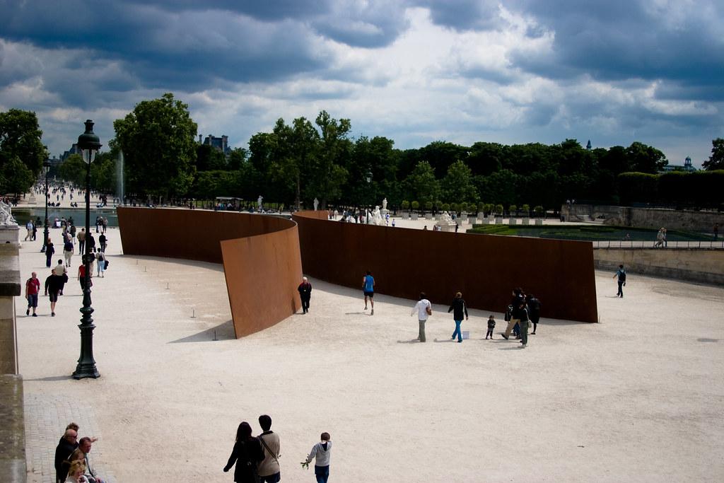 Serra Richard Clara Clara Clara Clara Richard Serra Jardin Des Tuileries