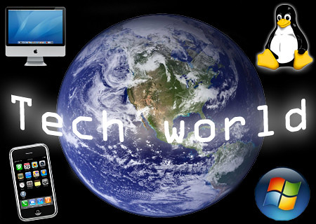 Tech-World Logo   A logo made by wee493 props to him for a ...