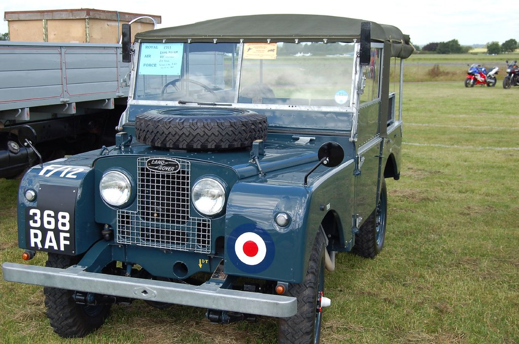 Old White Land Rover >> 1953 RAF Land Rover | The Spit and Polish this old girl must… | Dave Hodson | Flickr