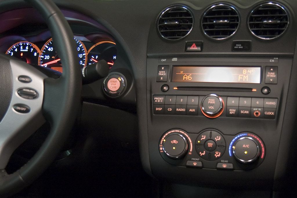 2008 Nissan Altima 3 5 Se Interior Andrew Pierce Flickr