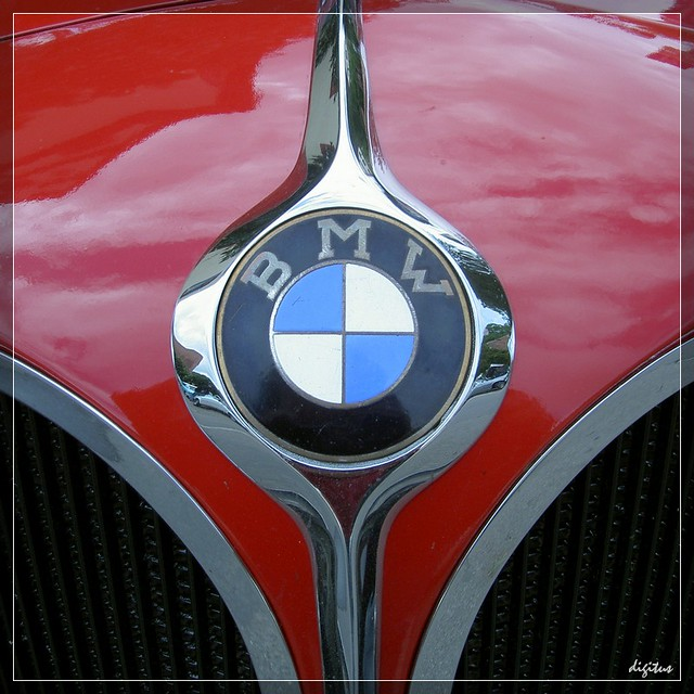 Oldtimer Bmw Logo Aus Dem Archiv From The Archives
