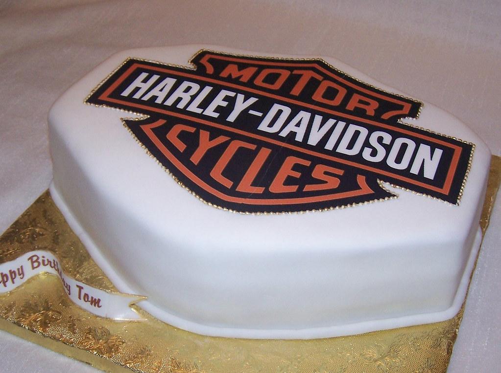 Diy Harley Davidson Cake